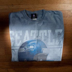 Seattle Seahawks Blue NFL Graphic Tee
